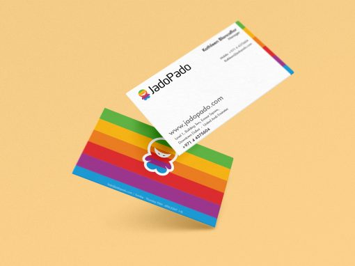 Jadopado Business card Design