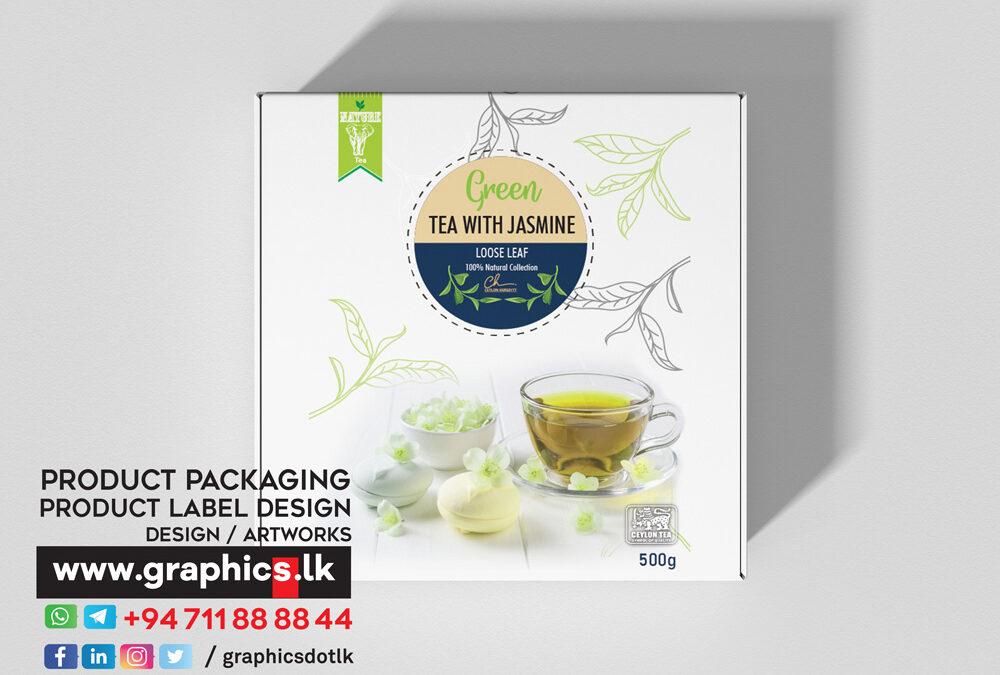Label Design for Tea Company