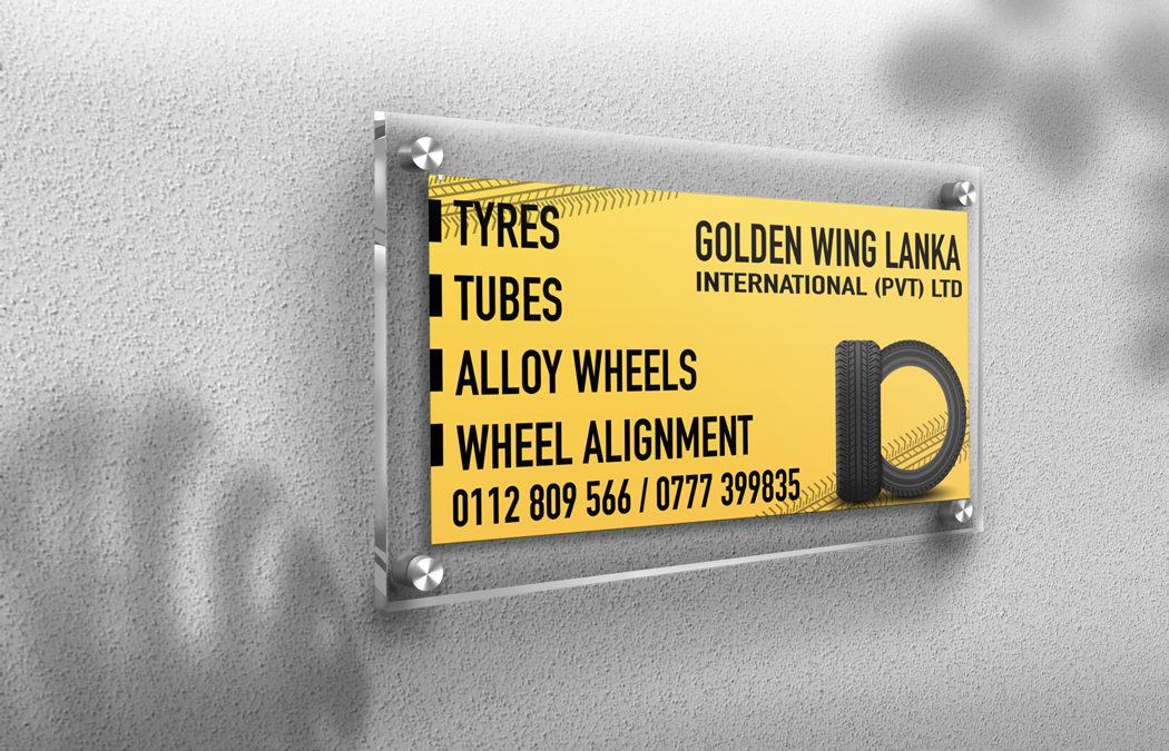 Golden Wing Lanka Board Design