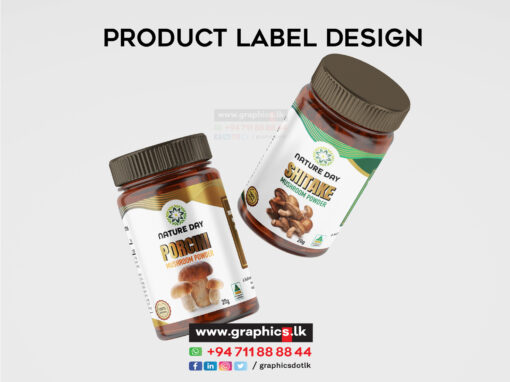 Label Design for Mushroom Product