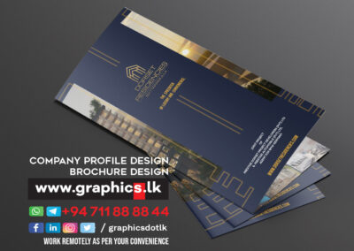 Brochure Design for Construction