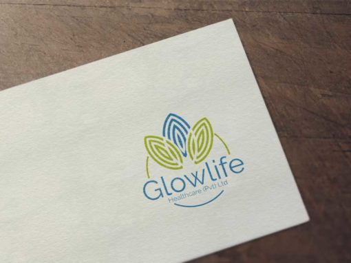 Glowlife Logo Design