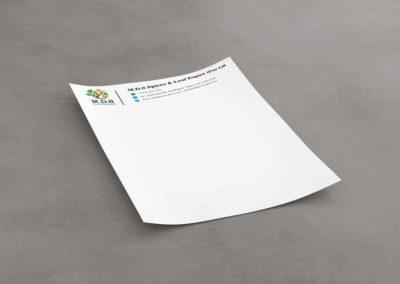 Letterhead Example