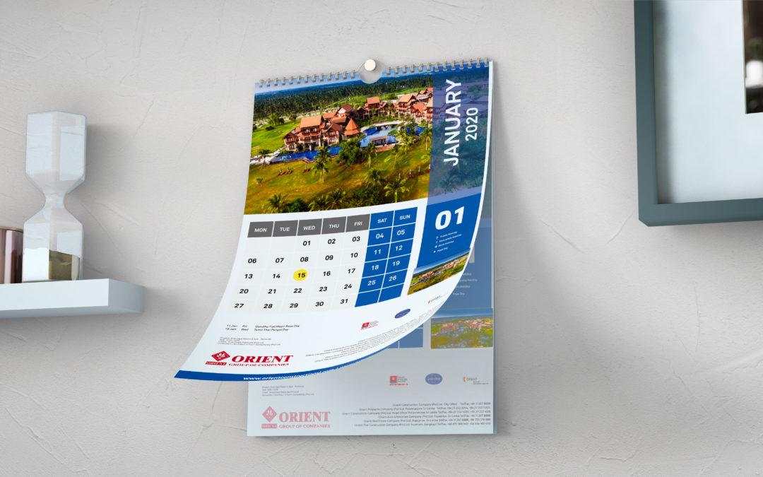 Orient Construction Calendar