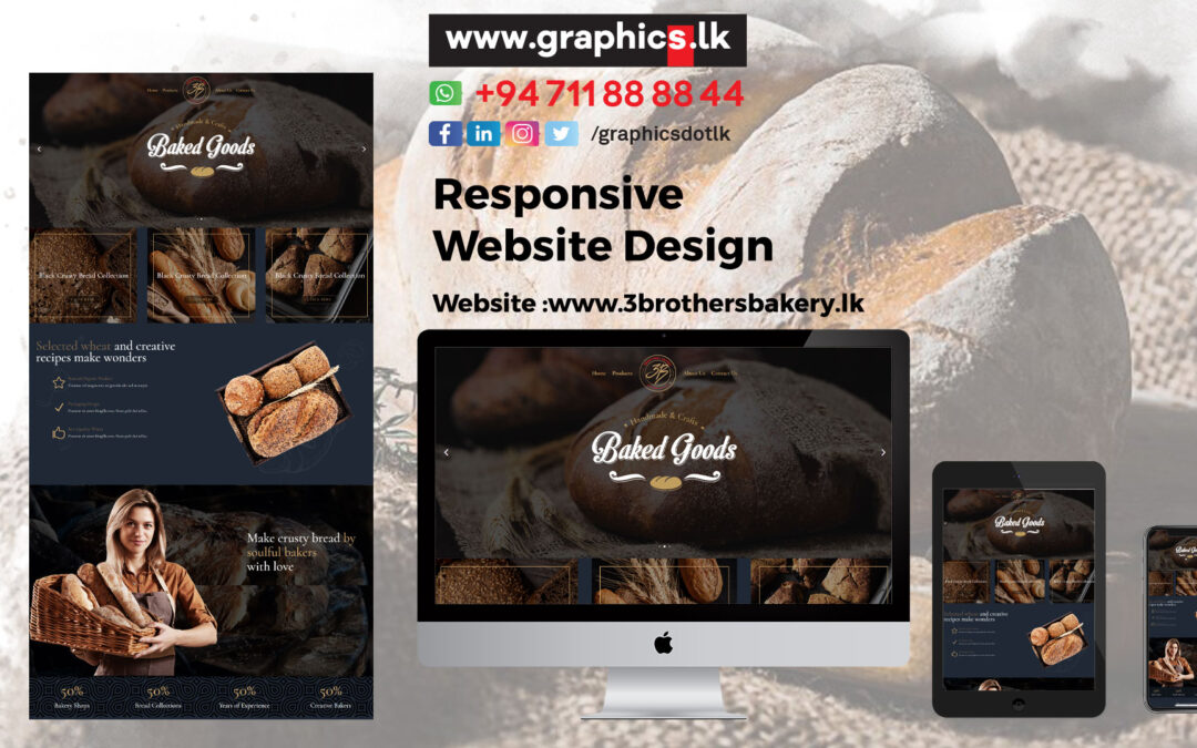Website for Bakery Industries