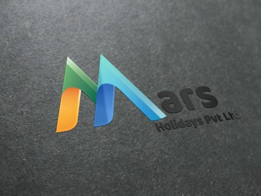 Mars Holidays Logo Design