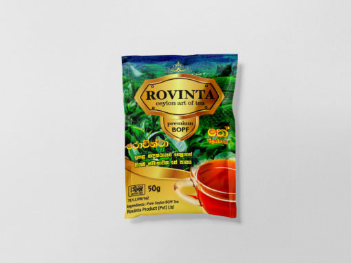 Rovinta Tea Packaging