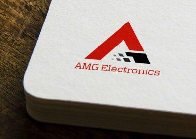 AMG Electronic Logo Design