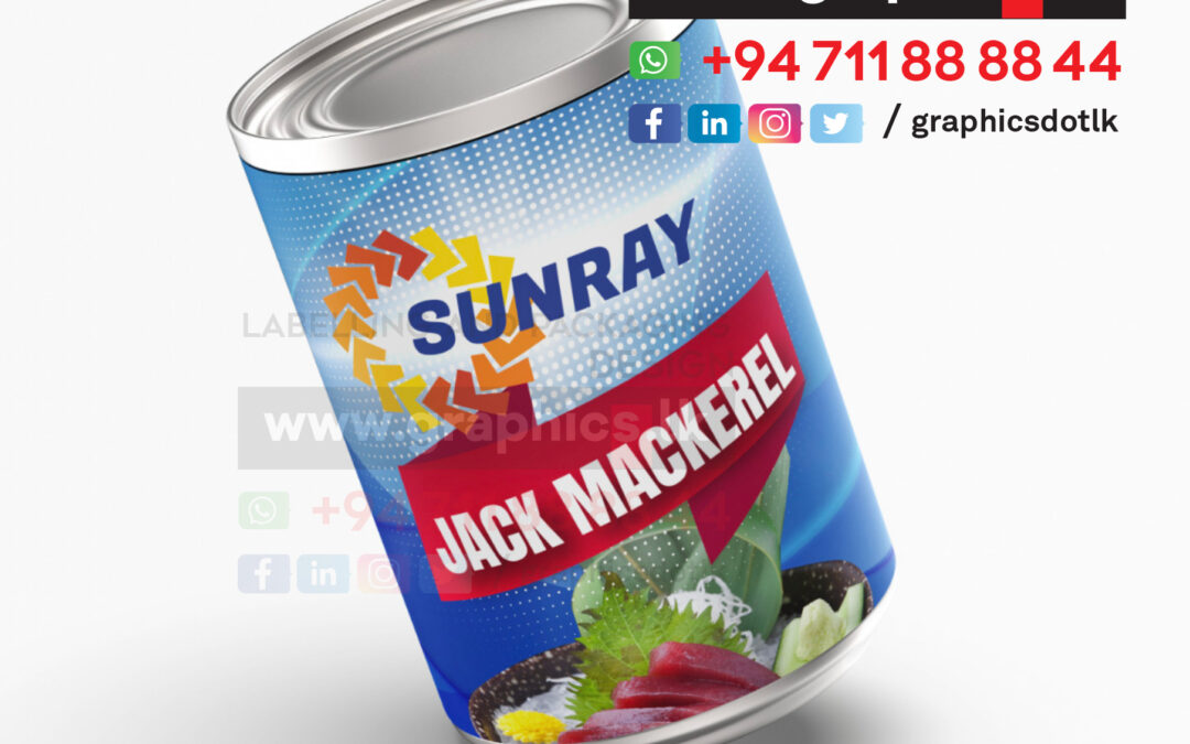 Label design for Canned Fish