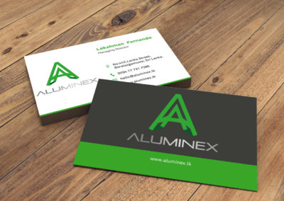 Aluminum Company Business Card