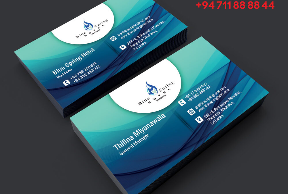 Business card hotel