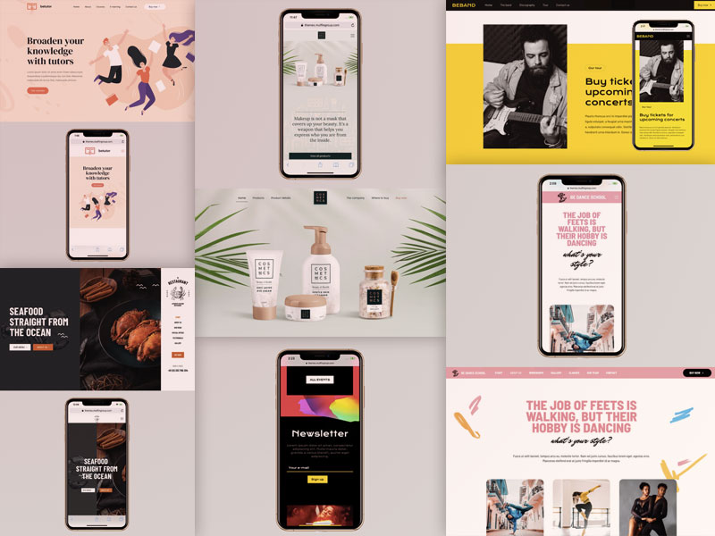 10+ Examples of Responsive Websites That Got It Right