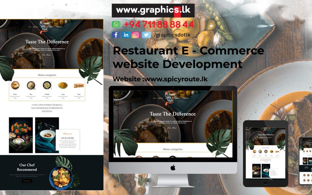 Website Design for Foods