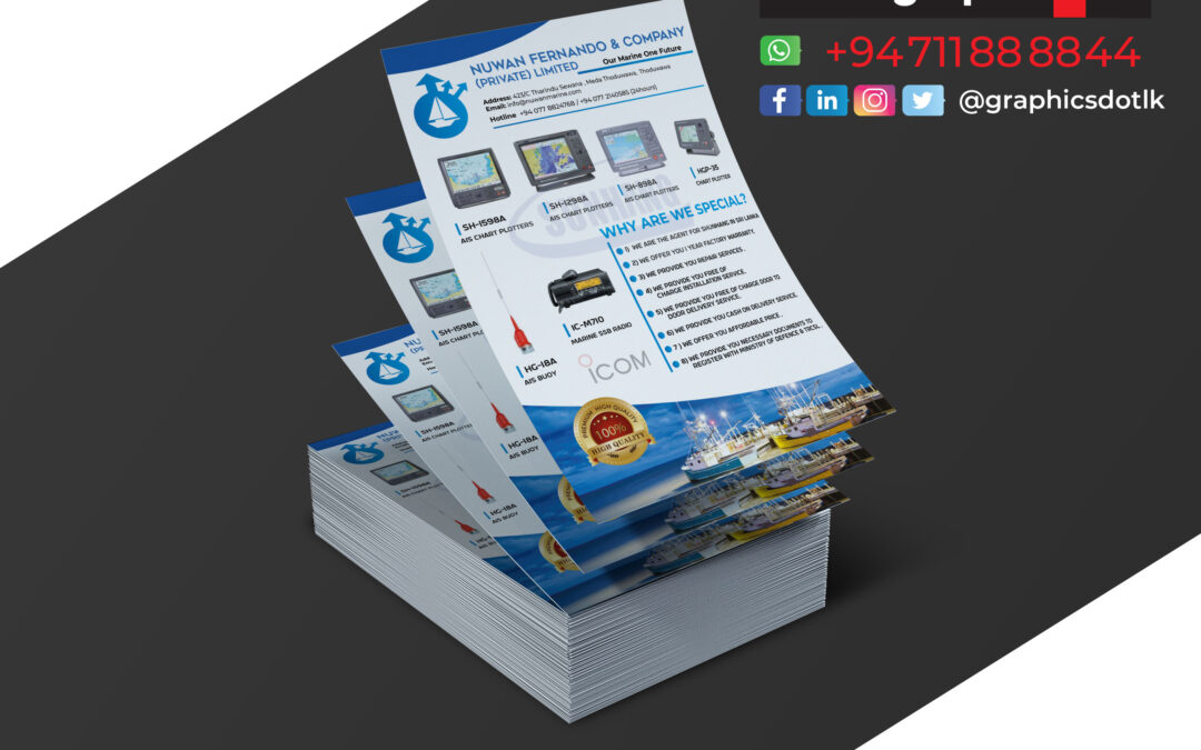 leaflet for Construction Company