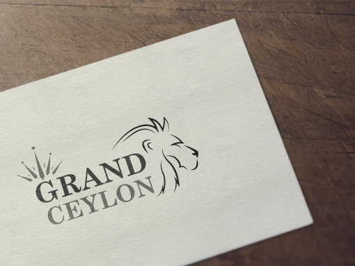 Grand Ceylon Logo Design
