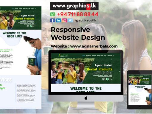 Agnar Website Design