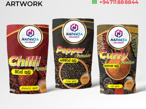 Label Design for Spices Product