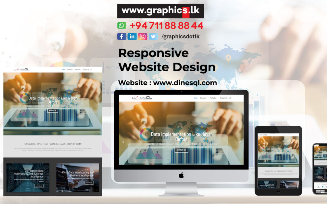 DineshQL Website Design