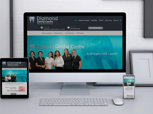 Diamond Dental Center Website
