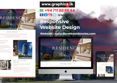 Website Design for Apartment
