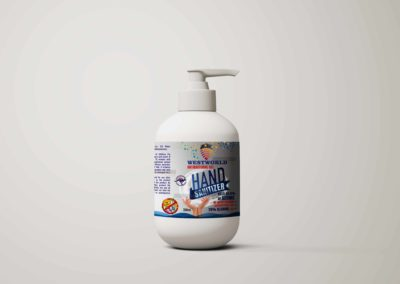 Hand Wash Label Design