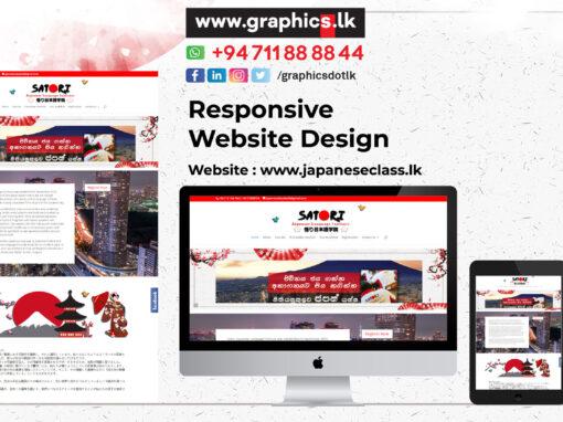 Japanese Class Websites Design