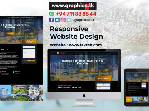 Lakreh Website Design
