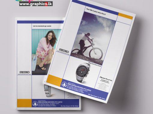 Seiko Leaflet Design