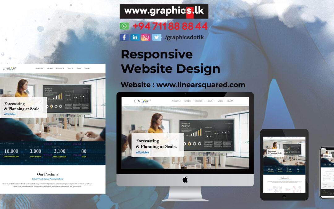 Linear Squared Website Design