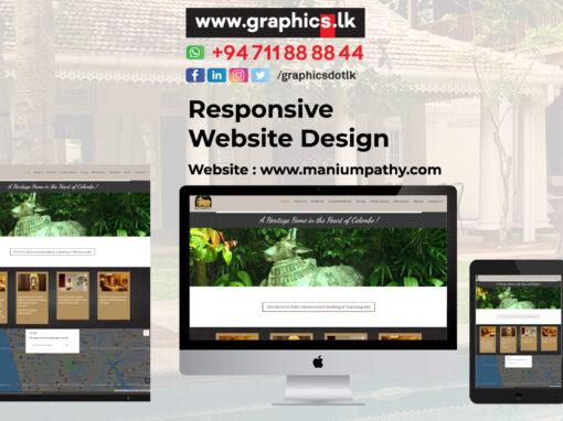 Maniumpathy Websites Design