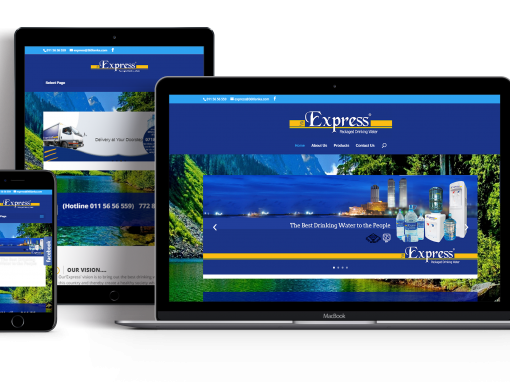 Express Water Websites Design