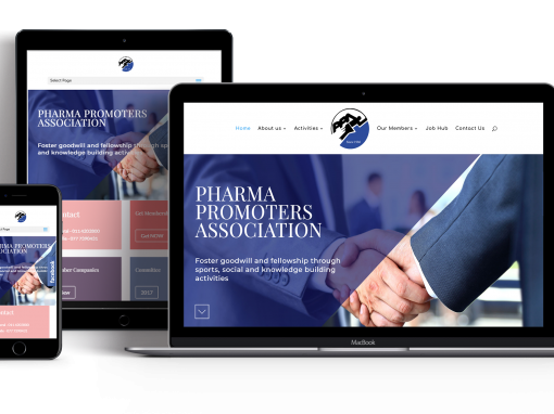Pharma Promoters Association Website Design