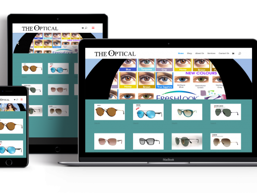 The Optical Websites Design