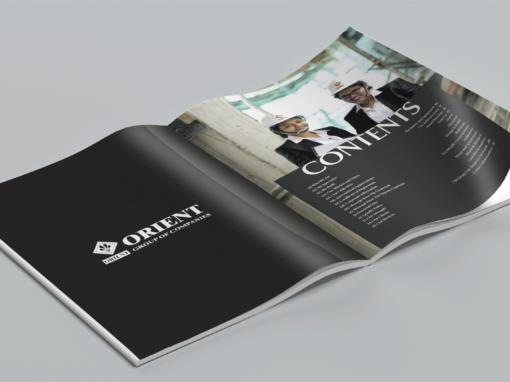 Orient Company Profile Design