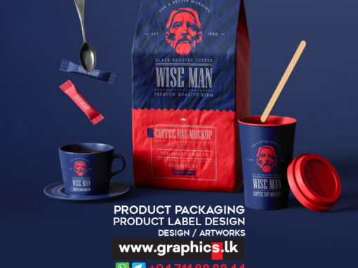 Coffee Product Packaging Design