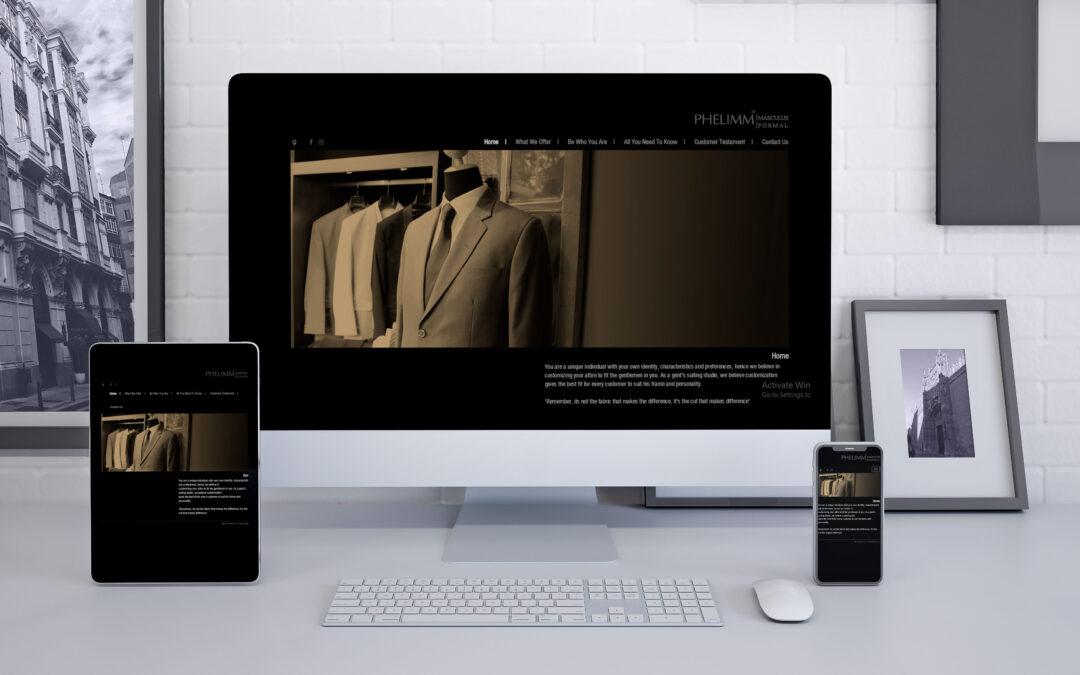Phelimm Website Design