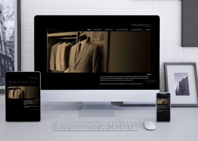 Phelimm Website Design