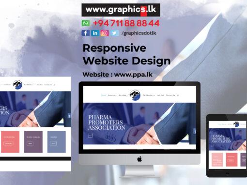 Pharma Promoters Association Website Design
