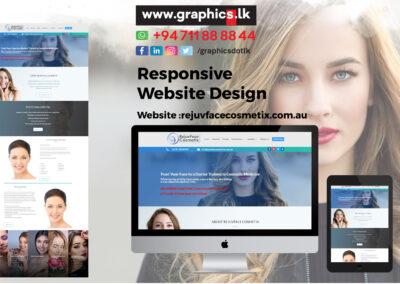 Rejuvface Cosmetix Website
