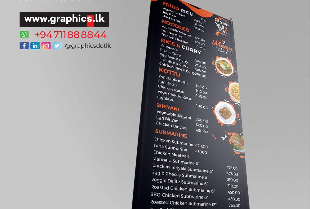 X banner Design for Restaurant