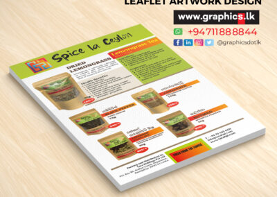 Flyer for Spices