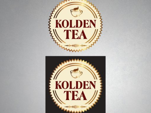 Logo Design  – KOLDEN TEA
