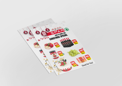 Spar Flyer Design
