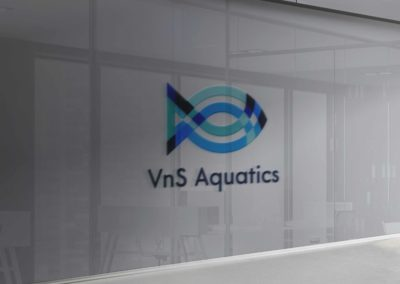 VnS Aquatics Logo Design