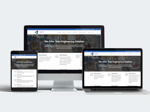 T-mackeng Website Design
