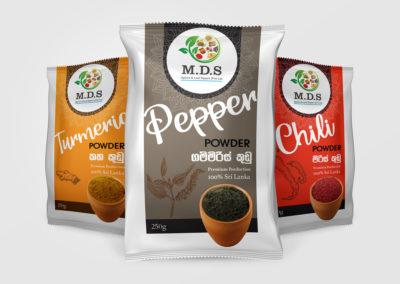 M.D.S Label Design