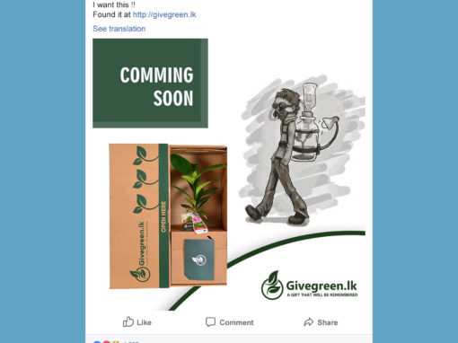 Give Green Facebook Posts