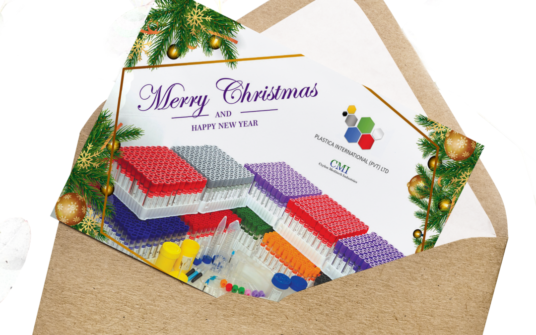 Plastica International Greeting Card