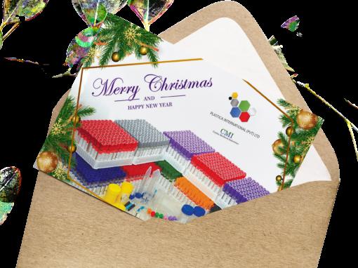 Plastica International Greeting Card