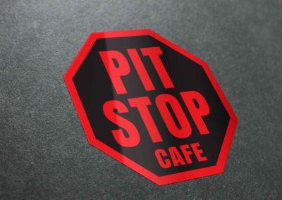 Pit Stop Cafe Logo
